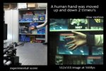 tracking of a human hand